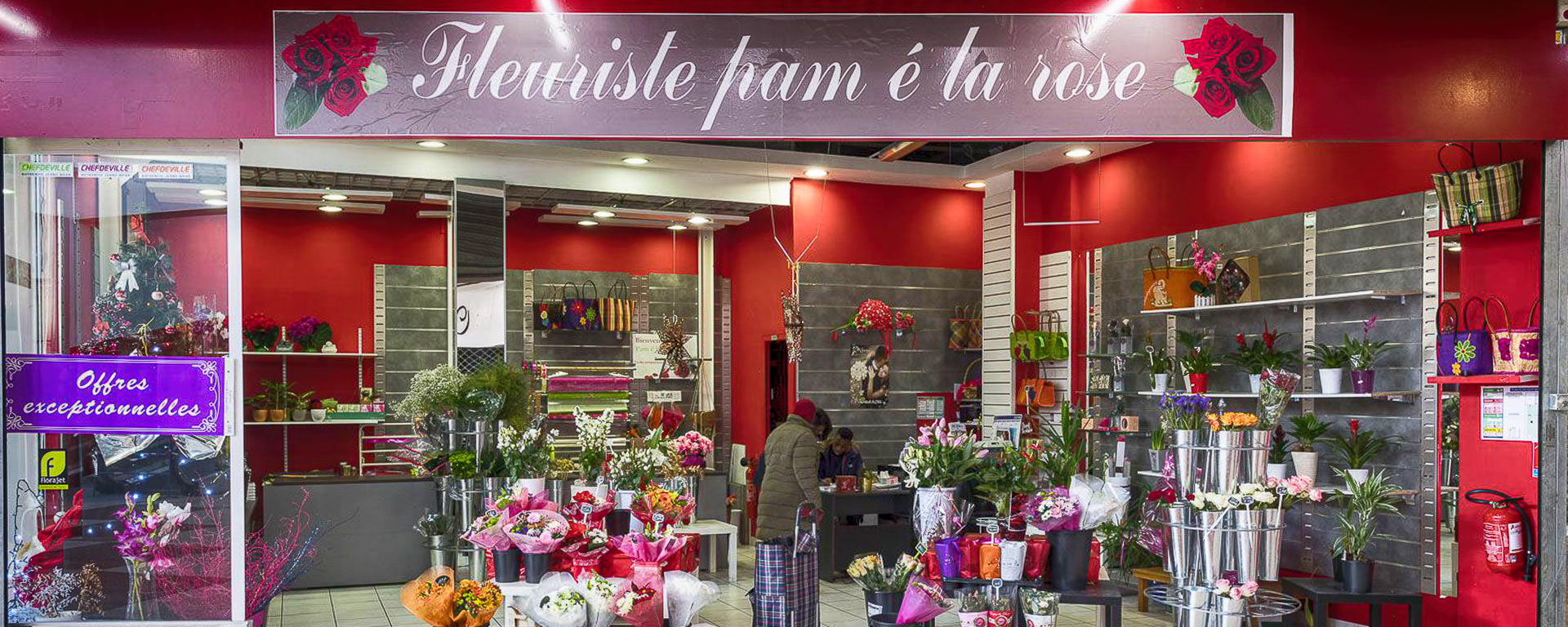 fleuriste d'exception pour toutes les occasions à Villetaneuse (93)